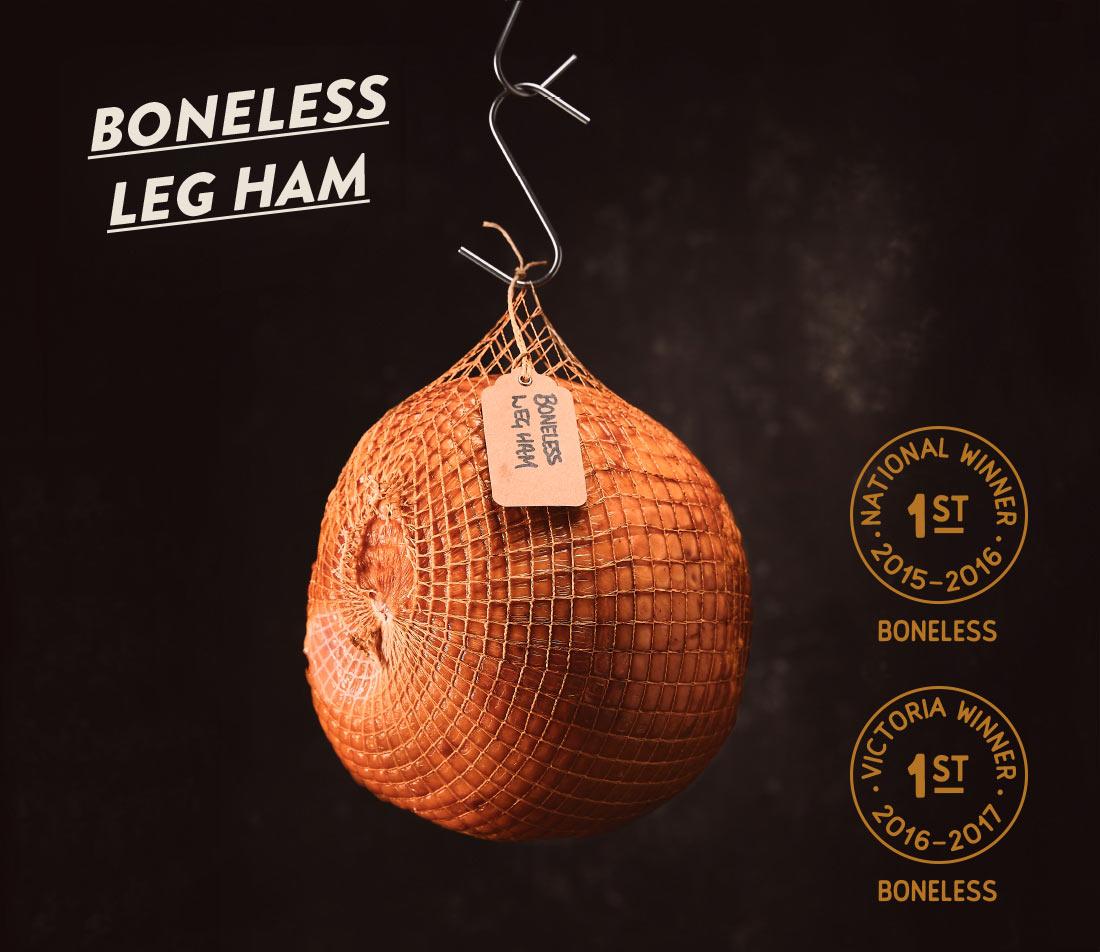 Victoria's best boneless leg ham