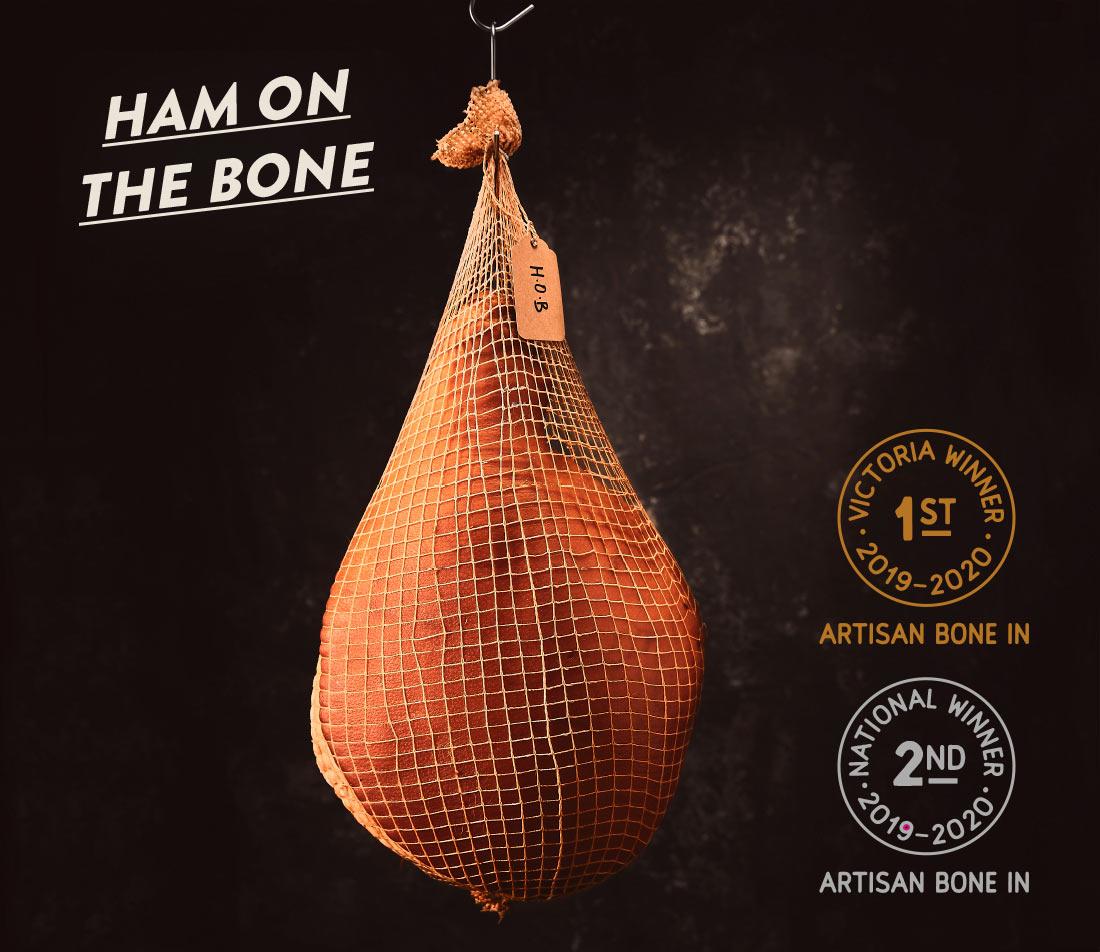 Christmas Ham on the bone